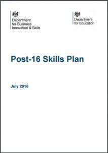 Post-16 Skills Plan