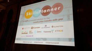SkillsPlanner launch holding slide