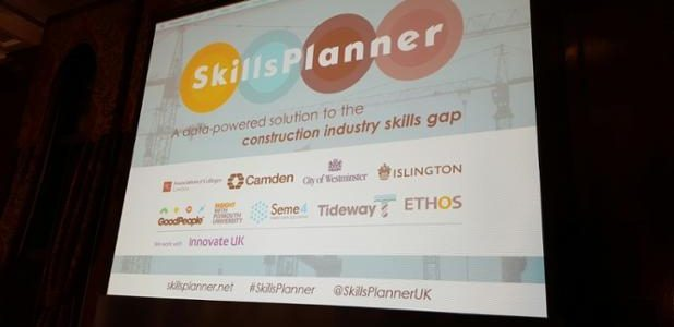 SkillsPlanner launch holding slide