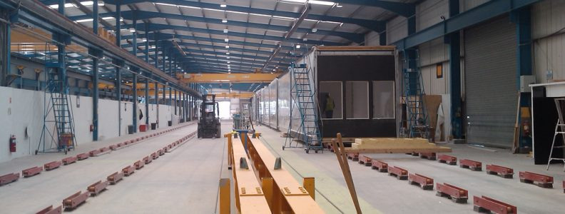 Module Building in factory environment